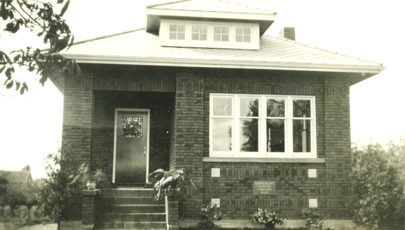 Agincourt Association Library, about 1925