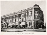 Campbell Block, location of West Toronto Junction Mechanics' Institute, 1889-93.