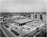 Construction of new Forest Hill Village Library and Municipal Building, 1962.