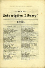 listing of religious works available at the subscription  library
